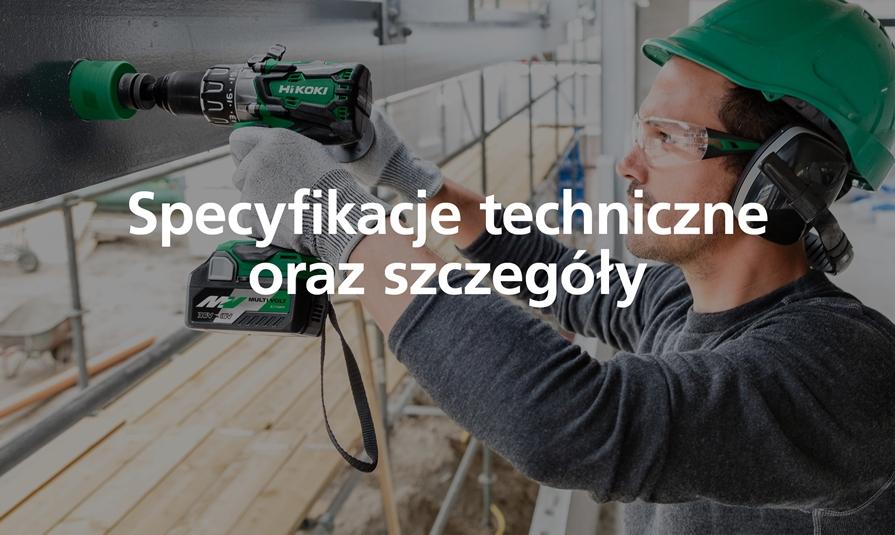 Specyfikacje techniczne oraz szczegóły