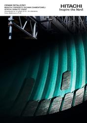 Cennik detaliczny maszyn i osprzętu techniki diamentowej Hitachi, Sankyo, Carat na rok 2016