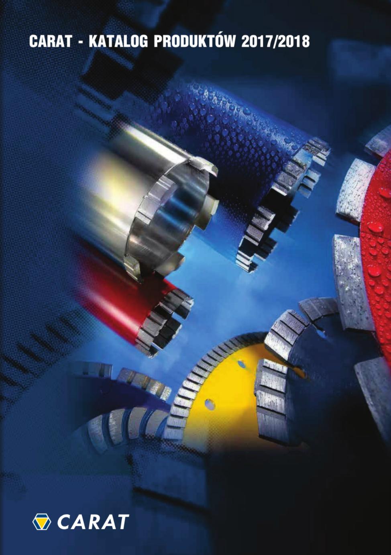 Katalog techniki diamentowej Carat 2017/18