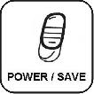 Przełącznik redukujący moc o połowę.