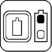 Wskaźniki poziomu naładowania baterii.